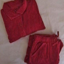 2 Piece Onque Casuals Elements of Style Clothing... Womens Velour Jogger Size Sm Photo