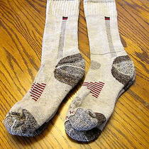 2 Pr. Carhartt Smart Merino Wool Sport Industrial Trekking/biking Socks 7-9 Photo
