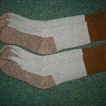 2 Pr Carhartt Smart Merino Wool Womens Gray Heavy Duty Sport Hiker Socks M 7-9 Photo