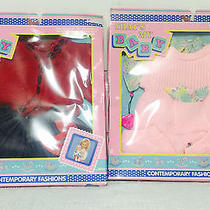 2 That's My Baby Oopsie Daisy Kid Sister & La Baby Outfit Baby Doll Clothes Nib Photo