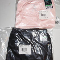 2 Vanity Fair Brief Panty Nylon 15712 Perfectly Yours 8 Xl Blushing Pink Black Photo