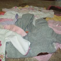 20 Piece Girls 3-6 Month Winter Clothing Lot-Child of Mine Baby Gap Carters Photo
