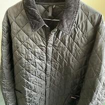 200 Men's Size Xxl Barbour Heritage Liddesdale Quilted Polyamide Jacket Black Photo