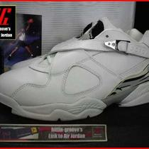 2003 Nike Air Jordan 8 Retro Low 1 3 4 5 6 11 12 13 Chrome Aqua Bugs Bunny Bred Photo