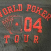 2004 World Poker Tour Royal Straight Flush T Shirt 2xl Photo