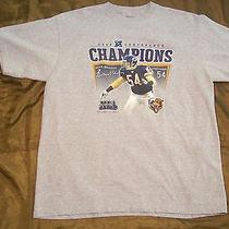 2006 Chicago Bears Brian Urlacher Shirt Reebok Adult Large Conference Champions Photo