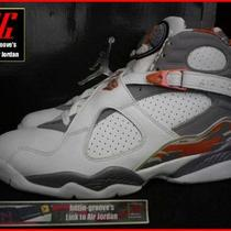 2007 Nike Air Jordan 8 Retro 1 3 4 5 6 11 13 Orange Bugs Bunny Chrome Aqua Bred  Photo