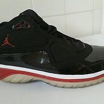 2009 Nike Air Jordan Elements Black Red Bred White Silver Grey 364693-061 Sz 12 Photo