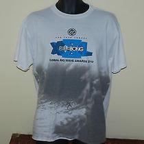2010 Billabong Global Big Wave Surf Awards T Shirt Size Large L Surfing  Photo