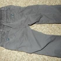 2012 Baby Gap 12-18m French Navy Blue Chino Pants Soft Elastic Waistband Photo