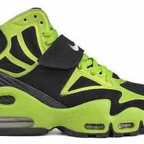 2013 Nike Air Max Express Sz 8.5 Express Black Brilliant Green 525224-015 Photo