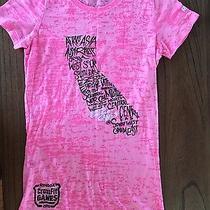 2013 Reebok Crossfit Games Women's Tshirt T-Shirt Pink Small  Photo