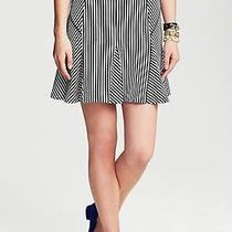 2014 Banana Republic Mixed Stripe Fluted Skirt Soldout  Photo