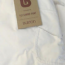 2014 Burton Fly Pant  Womens Snowboard Pants Md Stout White Photo