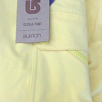 2014 Burton Gloria Womens Snowboard Pants Md Lemon Pop Photo