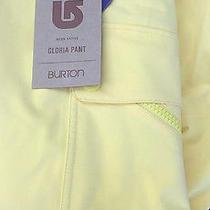 2014 Burton Gloria Womens Snowboard Pants Md Lemon Pop Photo