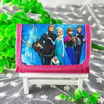 2014 Disney Cartoon Fantasy Frozen Purses Wallets Boys  Girls Gifts Qb-104 Photo