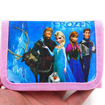 2014 Hot Disney Cartoon Fantasy Frozen Purses Wallets Children Gifts Am-105 Photo