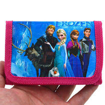 2014 Hot Disney Cartoon Fantasy Frozen Purses Wallets Children Gifts Qb-104 Photo