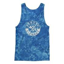 2014 Nwt Mens Element X Fender Bridge Tie Dye Tank Top 35 L Royal Blue Shirt Photo