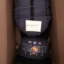 2015 Adidas Champions Authentic New Warriors Gray Nba Finals Locker Room Hat Cap Photo