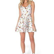 2015 Fashion Women Ice-Lolly Floral Print Sleeveless Mini Short Dress Free Size Photo