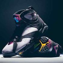 2015 Nike Air Jordan Retro 7 Bordeaux Graphite Size 7y Photo