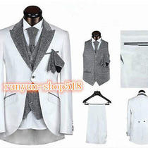2015 Selli the Wedding the Groom Suit Men Marry a Custom Button No21 Photo