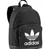2015adidas Adicolor Backpack Classic Trefoil Logo Black/white College School  Photo