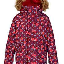 2016 Burton Girls Twist Bomber Jacket M Nwt Snowboard Ski Winter Photo
