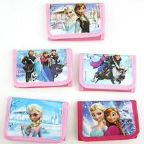 20pcs Disney Frozen Girl's Kids Boy Purses Wallets Anna Elsa Party Birthday Gift Photo