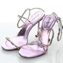 22-42 New 150 Women' Sz 8.5 M Jeffrey Campbell Demonic Ankle Strap Sandal Photo