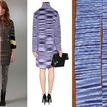 220 Missoni Orange Label Knit Footless Fashion Dress Leggings Szl  Photo