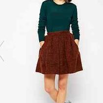 220 Wood Wood Vista Skirt in Rust Wool Size Small Danish Apc Acne Norse Photo