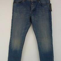 225 Men's Theory Slim Straight Jeans Pants Sz 32 Photo