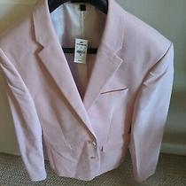 228 Express 38r Pink Blazer Extra Slim Fit Brand New Photo