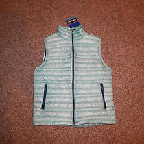 249 Nwt m's Patagonia Ultralight Down Vest - M Blue  Photo