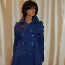 250 via Spiga Corset Type Trench Coat Size Xs Nwt Photo