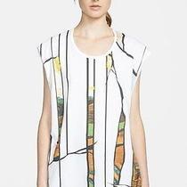 255  3.1 Phillip Lim Embellished Muscle Tank in Antique White (L) Photo
