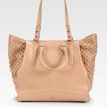 2595 Christian Louboutin Justine Spike Stud Tote Sold Out Photo