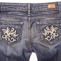 (25x31) Paige Premium Benedict Canyon Las Palmas Pocket Bootcut Jeans Tuscan Photo