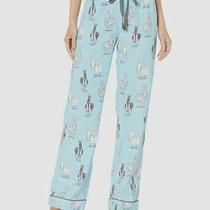 260 P.j. Salvage Women's Blue Classic Fleece Lounge Pajama Pants Size Xs Photo