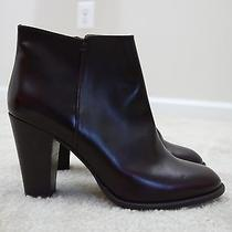 268 Madewell by J.crew the Hadley Boot in Wine Size 10 Nwob Photo