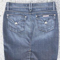 27 Hudson Nwot Denim Mini Skirt Gorgeous Wash From Film Wardrobe Photo