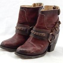 275 Free Peoplefreebird by Steven 'El Paso' Leather Bootie Rust 7m Photo