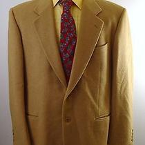 2850 Valentino High End Italian Camel Hair Sport Coat Suit Jacket Blazer 44r Photo