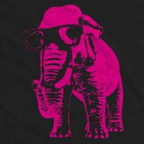 291 Pink Elephant T Shirt Funny Vintage Glasses Hipster Funky All Sizes/colors Photo