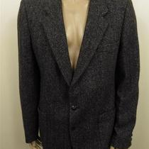 291 Yves Saint Laurent 2 Button Wool Suit Coat Blazer Jacet Mens 42r Photo