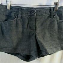 2b Bebe Charcoal Gray Tweed Look Short Shorts Size S Photo