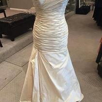 2be Bride 233785s Wedding Dress Bridal Gown Blush Size 10 Photo
